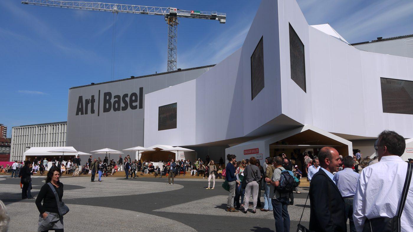 Art Basel, parvis principal