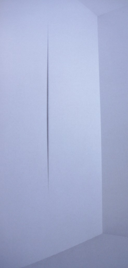 Lucio Fontana, ambiente spaziale, 1968