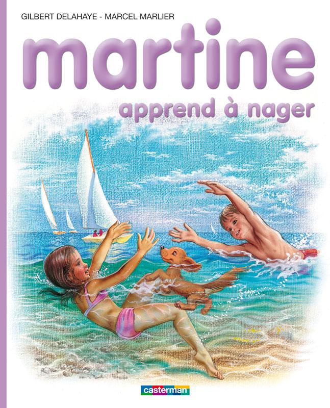 Delahaye / Marlier, Martine apprend à nager, 1975