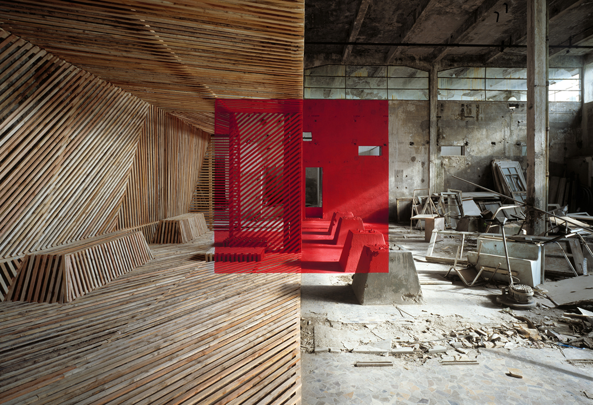 Georges Rousse, Sabourin 2009