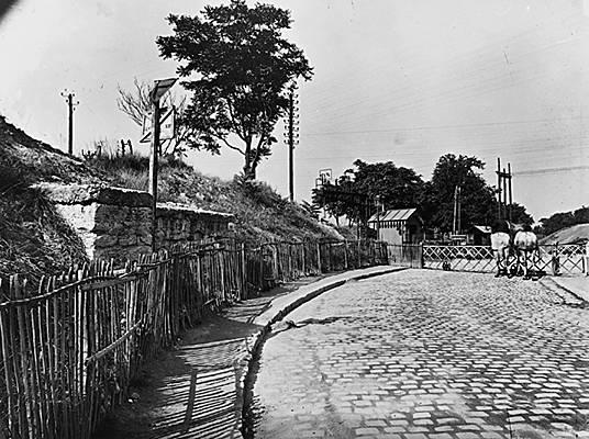Eugène Atget, une vue du vieux Paris