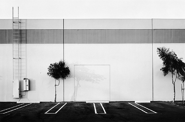 Lewis Baltz, South Wall Semicoa 333 McCormick Costa Mesa, 1974