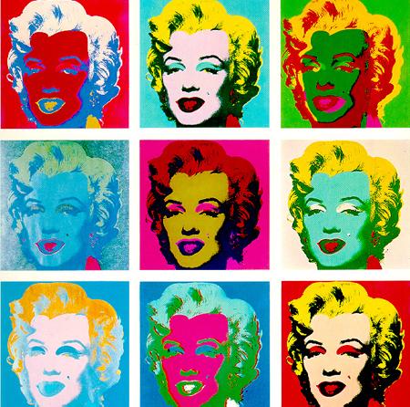 Andy Warhol, Marylin, années 60