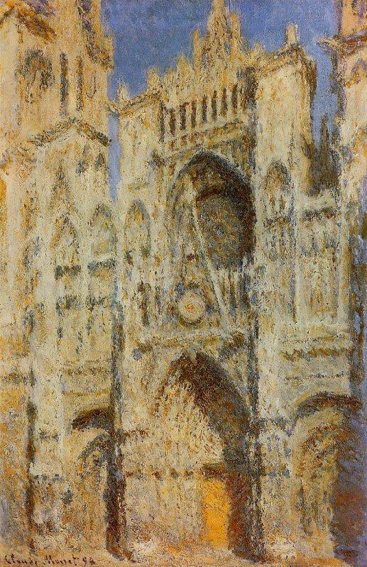 Claude Monnet, La Cathédrale de Rouen. Le Portail au soleil, 1893