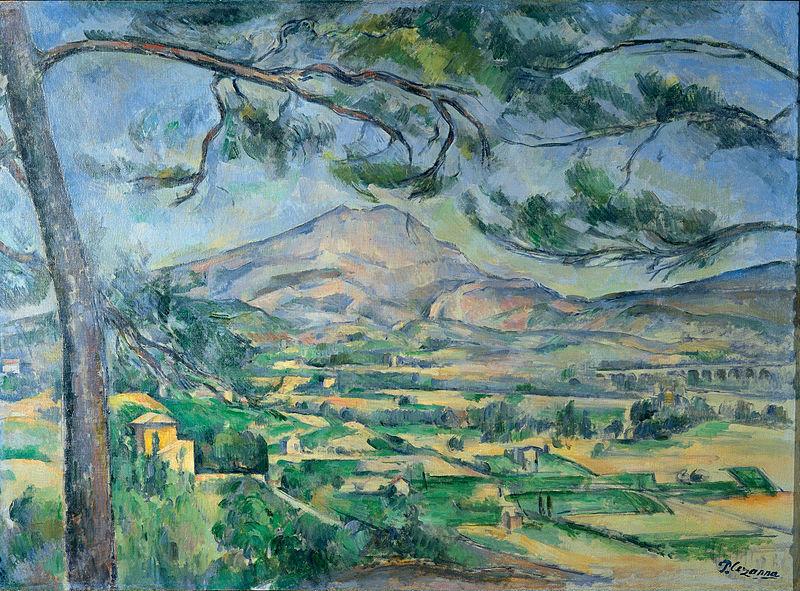 Paul Cézanne, La Montagne Sainte-Victoire, 1885-1887