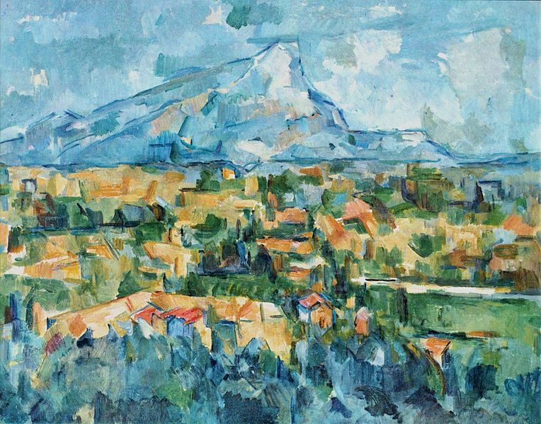 Paul Cézanne, La Montagne Sainte-Victoire, 1904