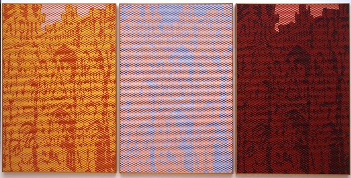 Roy Lichtenstein, Rouen Cathédral Set V, 1969