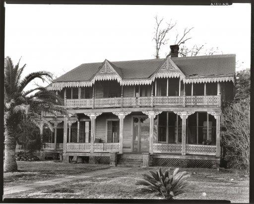 Walker Evans, Victorian Cottage. Waveland. Mississipi, 1936