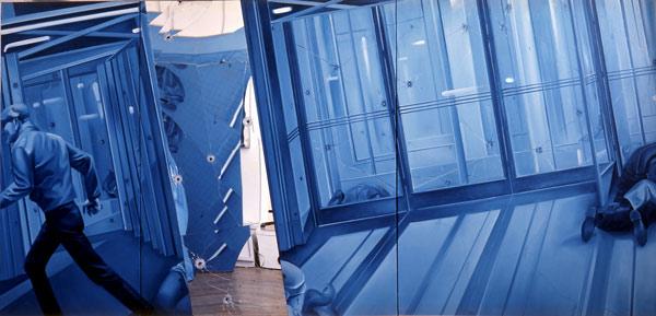 Jacques Monory, des bleus à l'âme