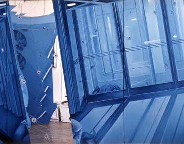 Artiste Jacques Monory - Des bleus à l'âme