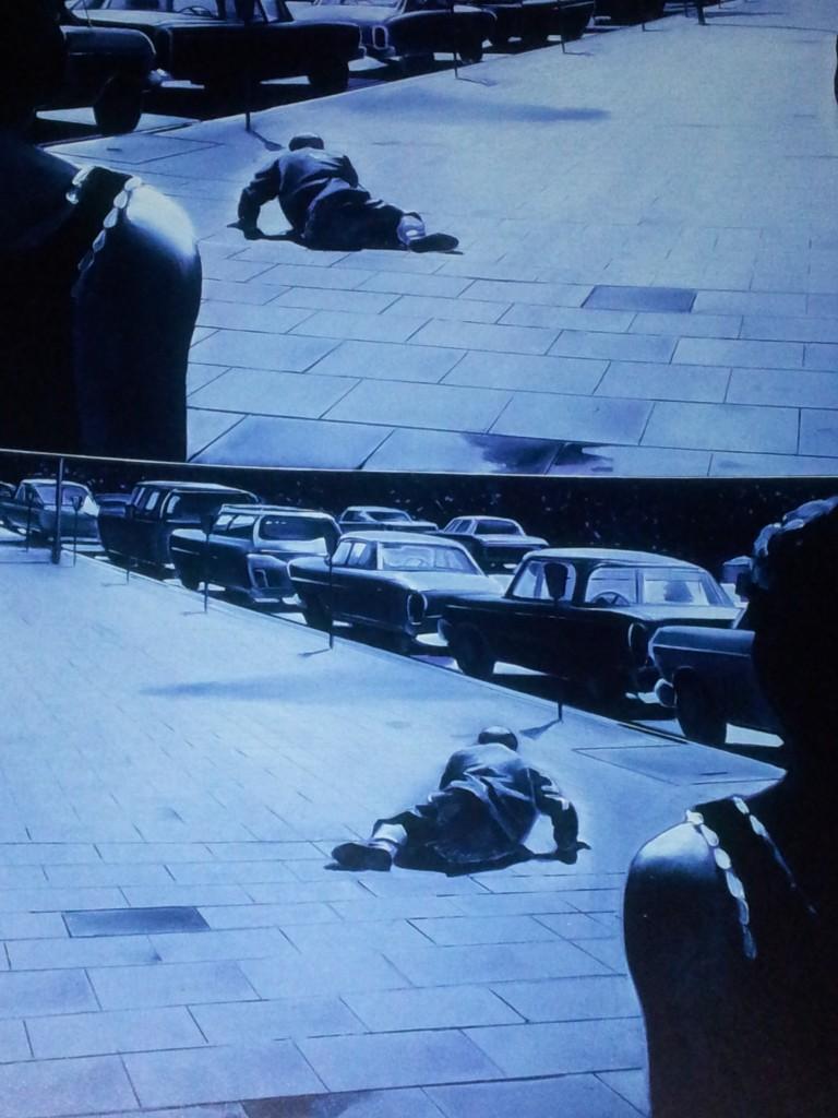 Jacques Monory, Noir n°9, 1990