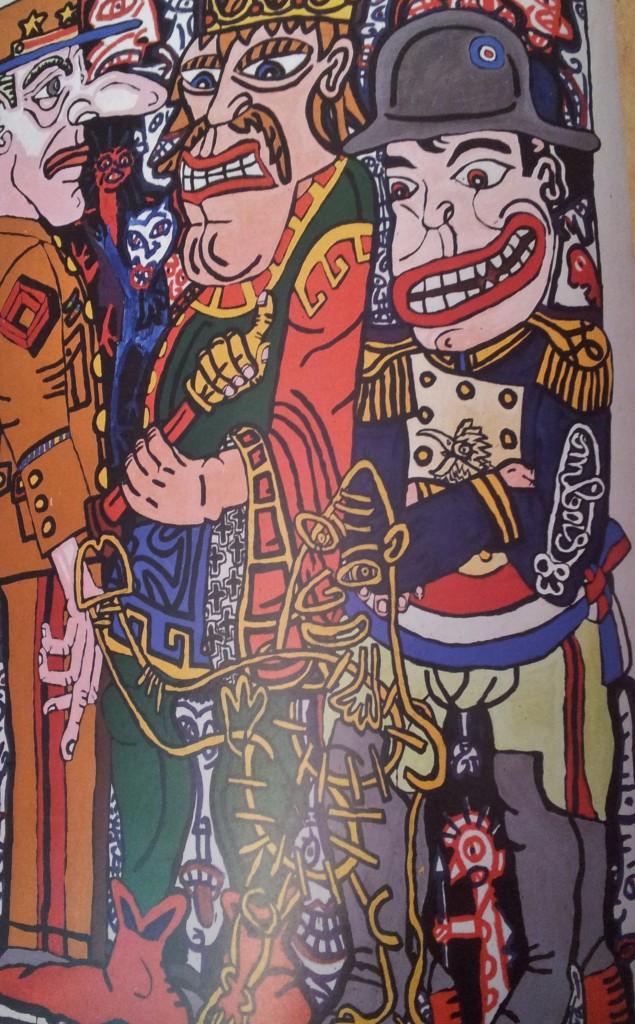 Trois grands personnages historiques français, 1983