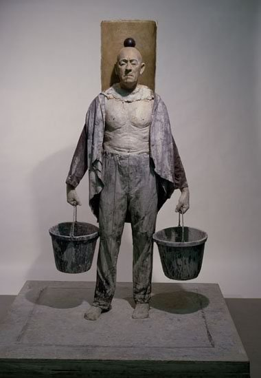 John Davies, The Bucket Man, 1974