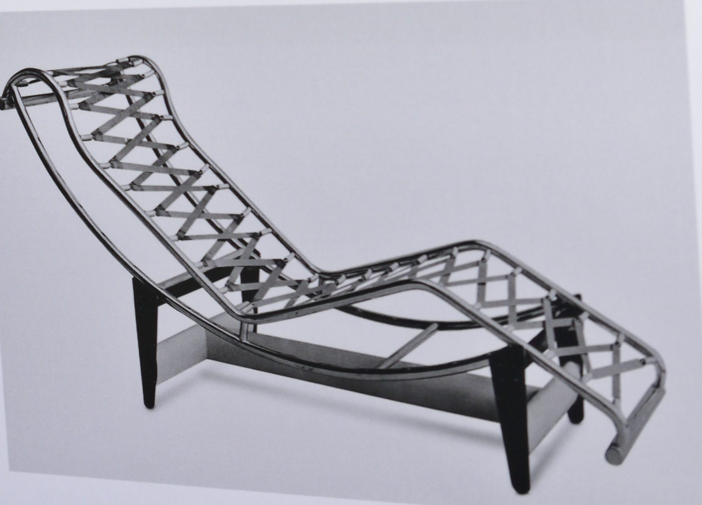 Chaise longue basculante, version 1929