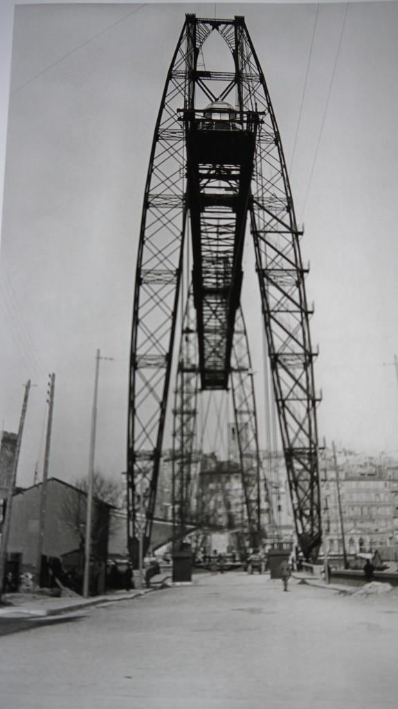Le pont transbordeur, Marseille, 1927