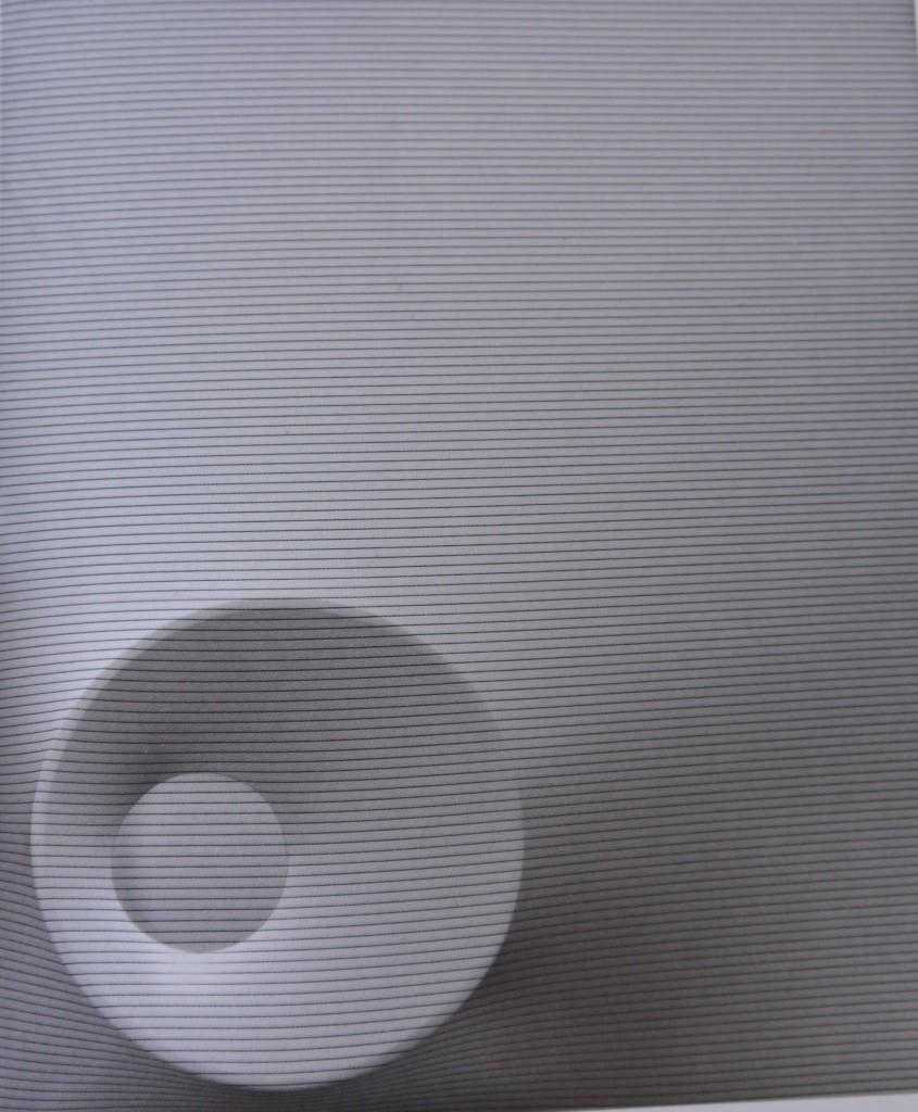 Agostino Bonalumi, Bianco e nero, 1968