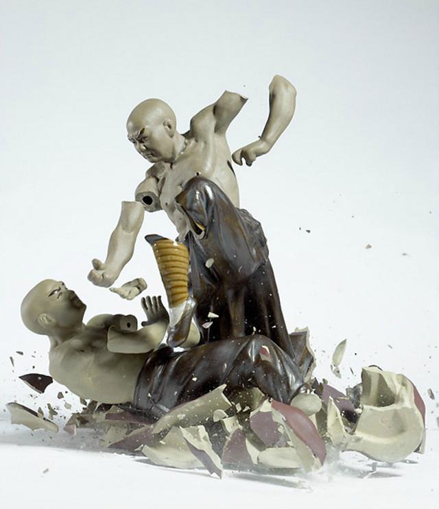 Martin Klimas, Porcelain Fugurines - Kung Fu