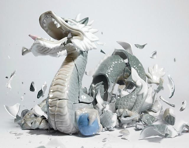 Martin Klimas, Porcelain Figurines - Dragon