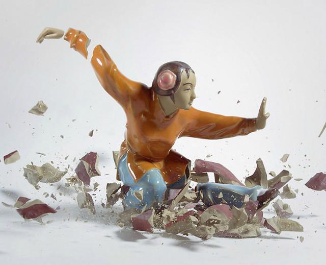 Martin Klimas, Porcelain Figurines - Kung Fu