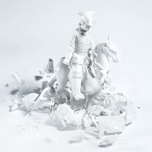 Martin Klimas, Porcelain Figurines - Cavalier