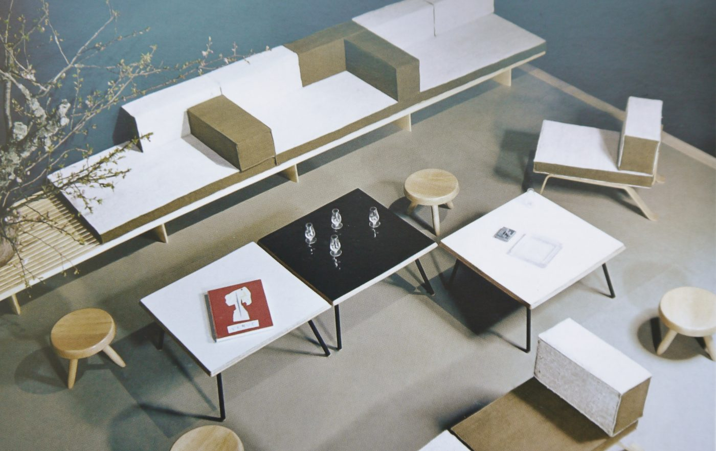 charlotte perriand et le japon. Black Bedroom Furniture Sets. Home Design Ideas
