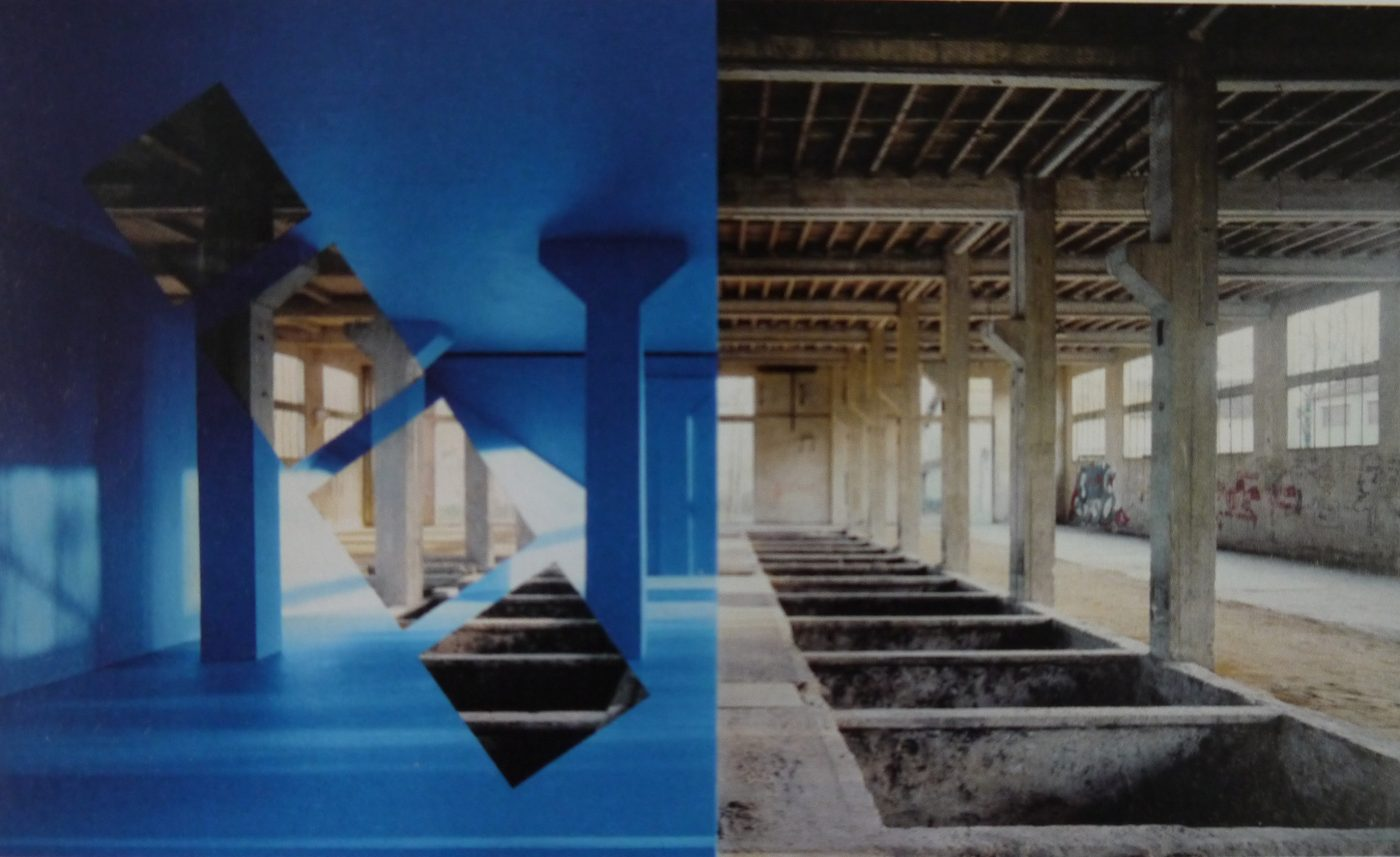 Georges Rousse, Amilly 2007