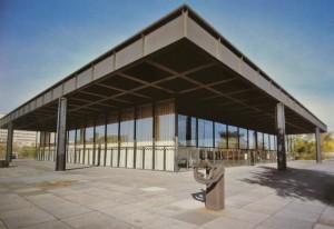 Ludwig Mies Van Der Rohe, Neue Nationalgalerie, Berlin, Allemagne, 1962-1968
