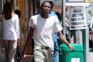 Beat Streuli, Cape Town, 98_0225, 2009