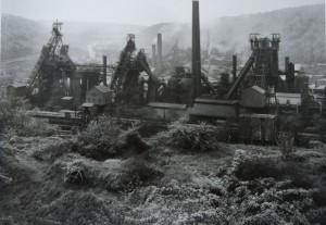 Bernd and Hilla Becher, Paysage industriel, Knutange, Lorraine, 1966