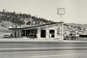 Ed Rusha, Photo issue de la série Twenty Six Gasoline Stations, 1962