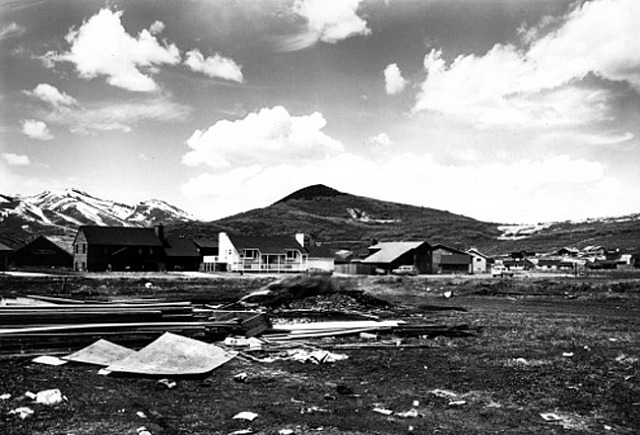 Lewis Baltz, Park City 61 (Park Meadows, Subdivision 2, Lot 1), 1979