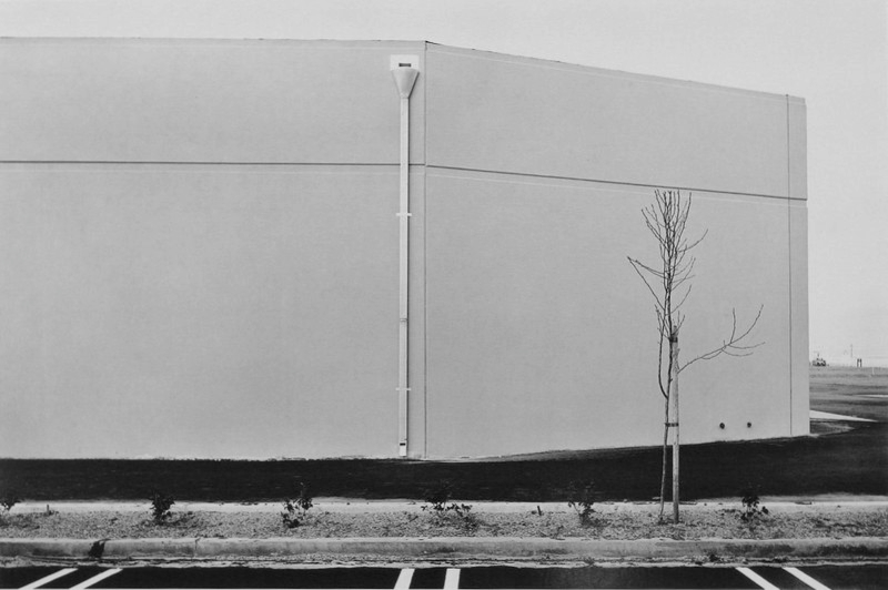 Lewis Baltz, South Wall Unoccupied Industrial Structure 16812 Miliken Irvine, 1974