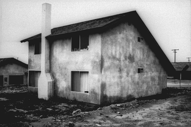 Lewis Baltz, Tract House n°15, 1971