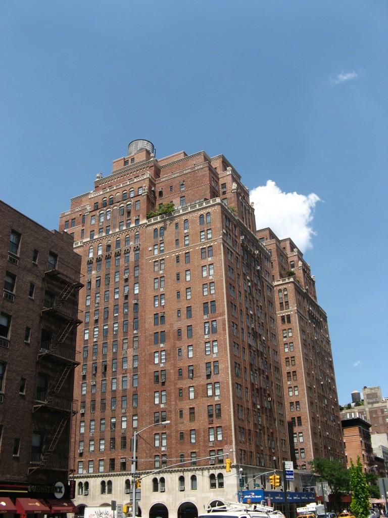 Chelsea District, NYC, Août 2010, vue d'un bâtiment traditionnel du quartier