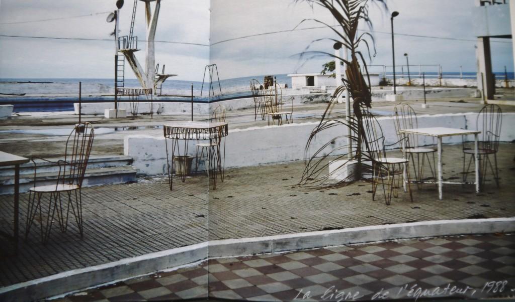 Sophie Ristelhueber, La ligne de l'Equateur -1988, 1996