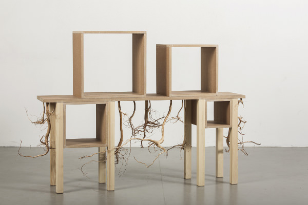 Hanna Dalrot, Sideborad-Cupboard, création pour la Stockholm Furniture and Light Fair 2013