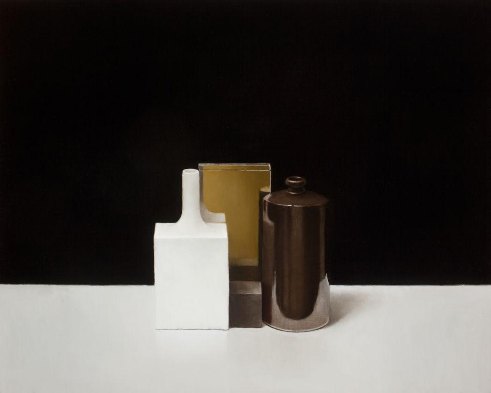 Paul Riley, Reflected Yellow, Dark, 2011