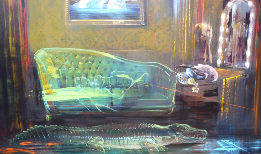 Crocodile translucide