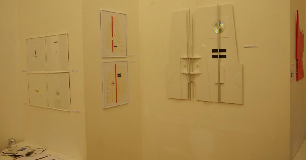 Au mur oeuvres de Jean Branchet