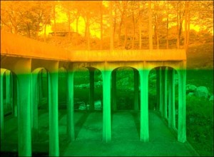 James Welling, Glass House, 2009