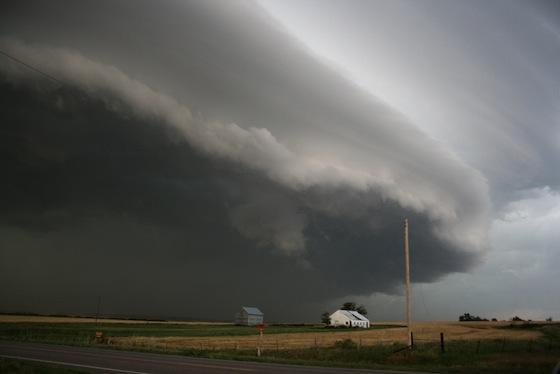 Tornade dans l'état d'Oklahoma, 2008