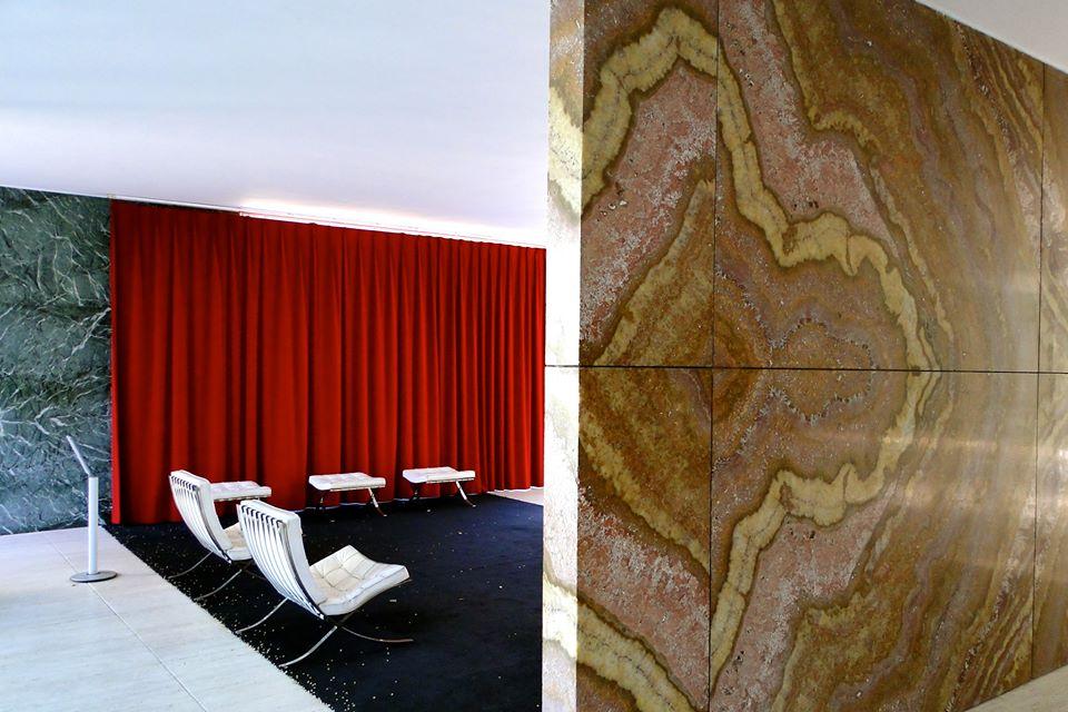 Ludwig Mies van der Rohe (d'après), Pavillon Barcelone, 1983-1986