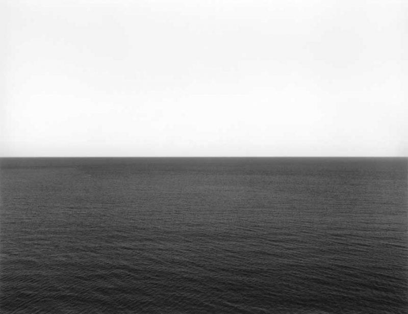 Hiroshi Sugimoto, Caribbean Sea, Jamaica 1980. Photographie Gelatine noir & blanc.