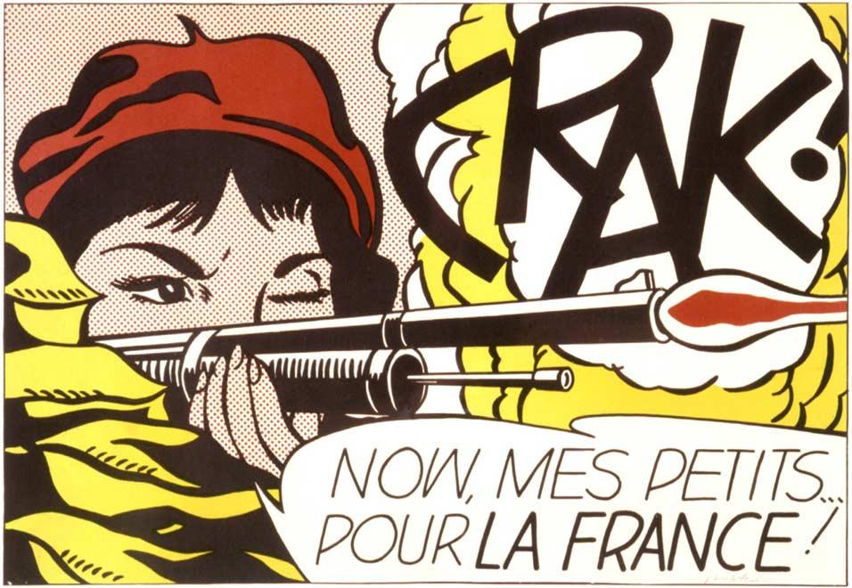 Roy Lichtenstein, Mes Petits... Pour La France !, 1963