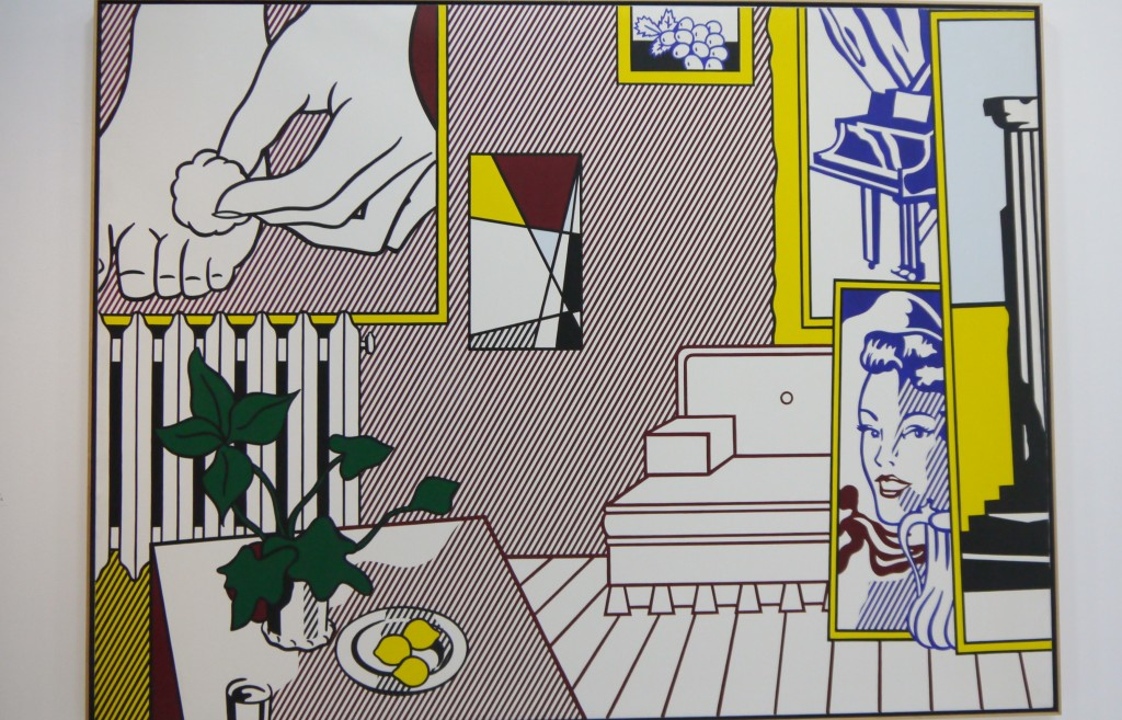 Roy Lichtenstein, Foot medication,from Artist's studio series,1974