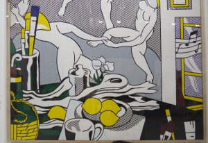 Roy Lichtenstein, The Dance, from Artist's studio series,1974