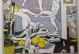 Roy Lichtenstein, The Dance, from Artist's studio series,1974