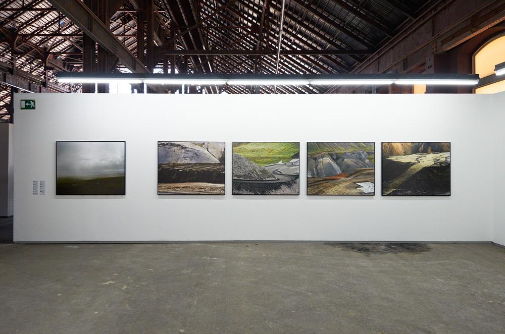 Pétur Thomsen, vue partielle de l'exposition de l'artiste aux Rencontres d'Arles 2012