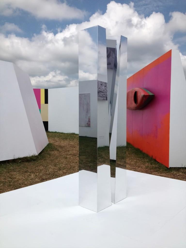 Opensky Museum, vue de différentes oeuvres
