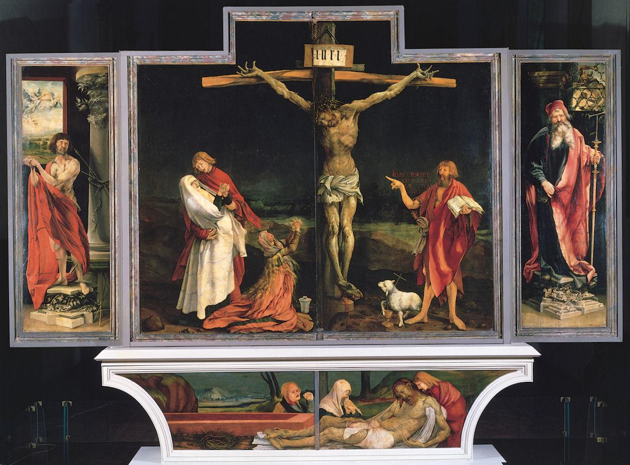 Mathias Günewald, Retable d'Issenheim, vers 1510-1516, Musée d'Unterlinden, Colmar